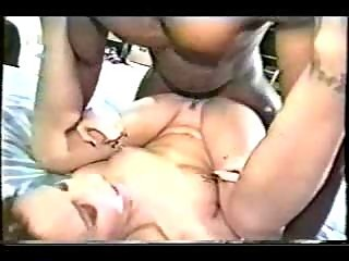 Young slut takes black cock