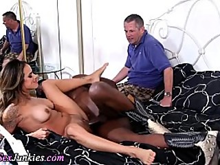 Big black cock cuckold