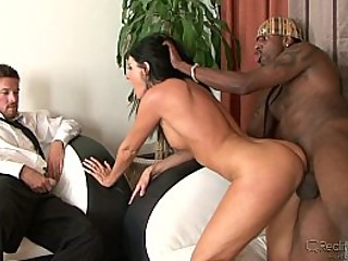 Brunette Wife Can't Get Enough of Black Cock